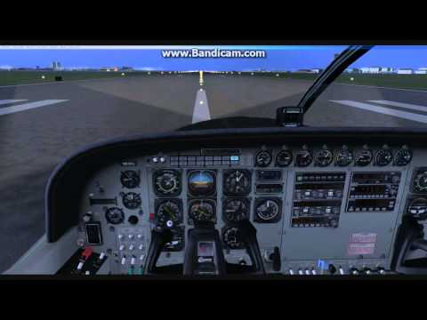 FSX Touch and go VFR Kastrup Airport Vatsim ATC