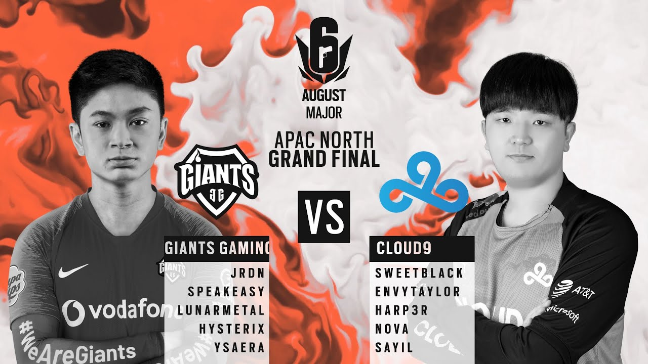 Giants Gaming vs Cloud9 // APAC Six August 2020 Major – North Division Grand Final