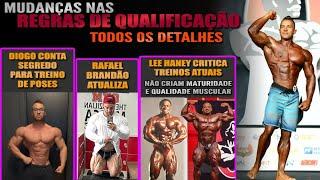 Olympia 2022 em nova data? + Regras para qualificação 2022 + Lee Haney x Open atual + Rafael Brandão