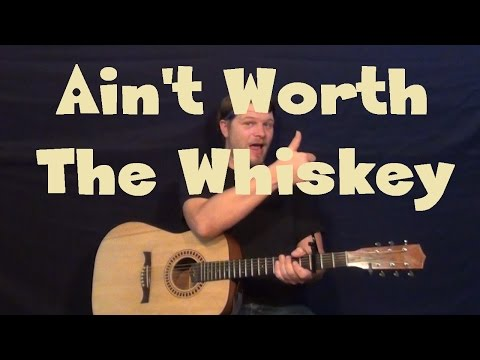Ain't Worth The Whiskey (Cole Swindell) Easy Guitar Lesson How to Play Tutorial