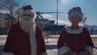 Santa & Mrs. Claus visit Drummond!