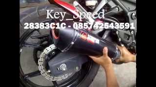 Knalpot Ninja 250 Scorpion Carbon By Key Speed