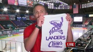 Brad Cesak Mudbugs Live Shot Sports Block 4-27-18