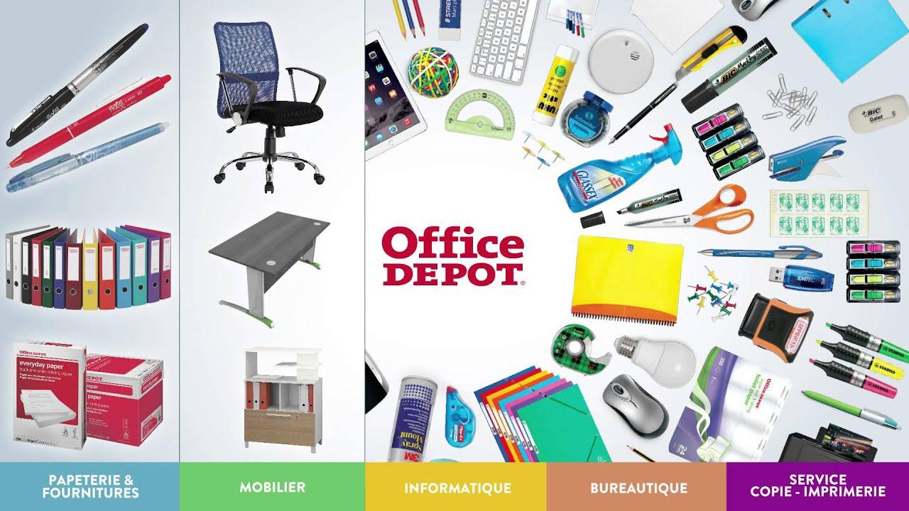 Publicit t l vision anniversaire office depot 2015 youtube - Fourniture scolaire office depot ...