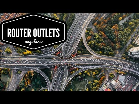 Angular 2 - Multiple router outlets