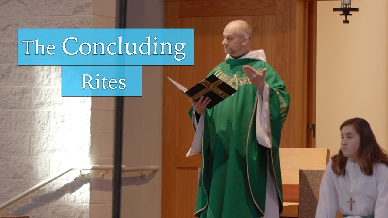Download Understanding The Mass: The Concluding Rites