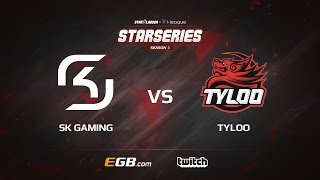 SL i-League S3 Finals - SK Gaming vs. TyLoo (Mirage) - Narração PT-BR