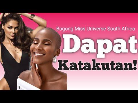 Bagong Miss Universe South Africa Dapat bang Katakutan sa Miss Universe?