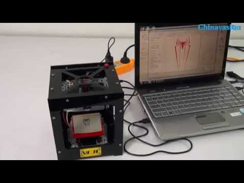 How to Use the Laser Engraver? NEJE DK-8-KZ High Speed