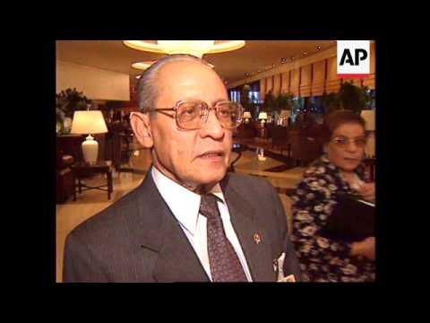 EGYPT: INDONESIAN PRESIDENT SUHARTO ARRIVES FOR G-15 SUMMIT