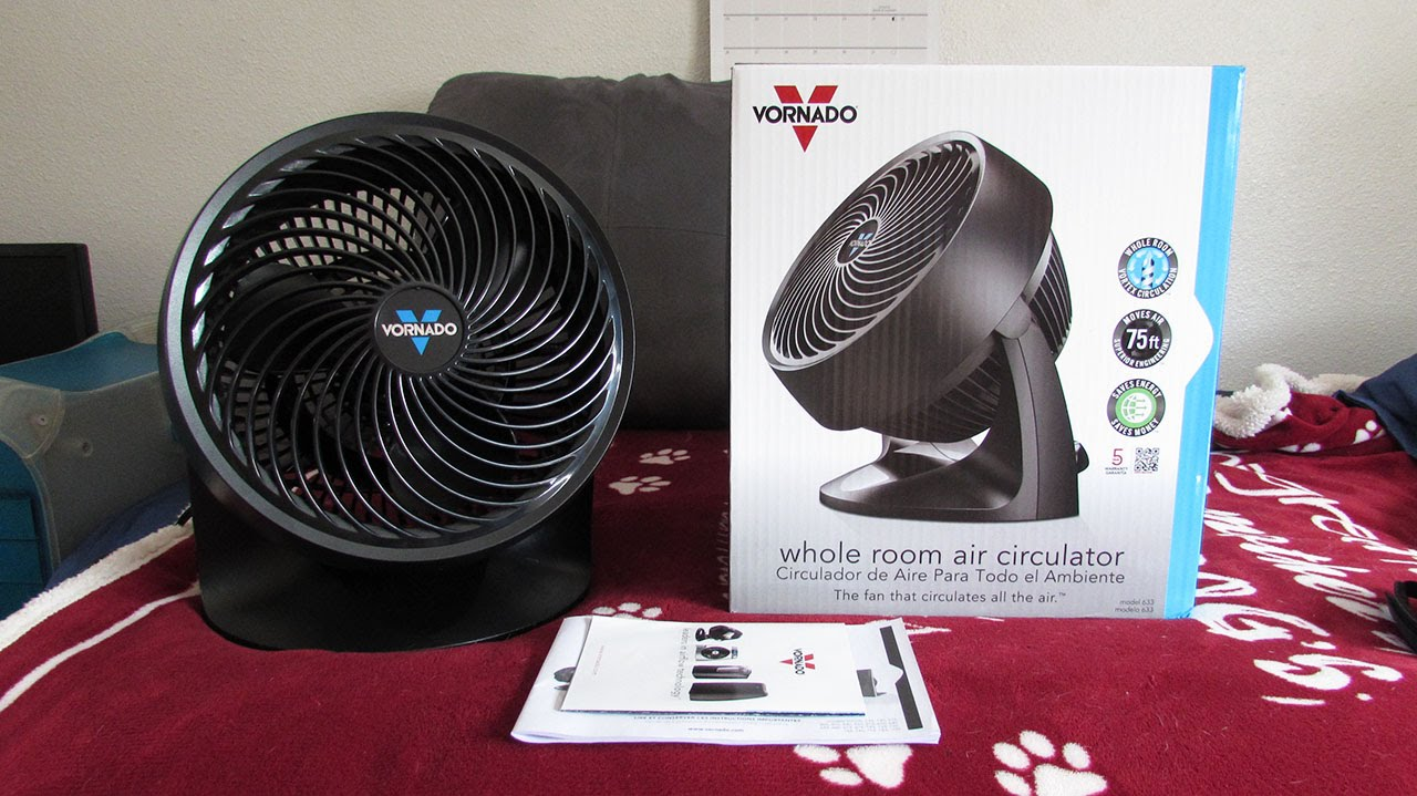 vornado 633 whole room air circulator review youtube. Black Bedroom Furniture Sets. Home Design Ideas