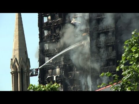 At least six dead in London tower fire