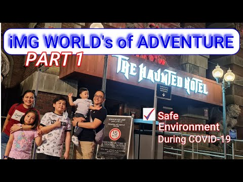 WELCOME TO IMG WORLD's of ADVENTURE DUBAI| POWER PUFF RIDE IS THE BEST!
