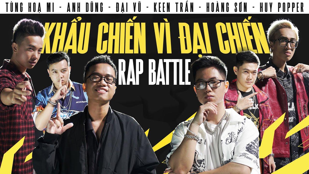 RAP BATTLE: Khẩu Chiến Vì Đại Chiến   BLV Liên Quân x  @1337 BATTLE  - Chung Kết ĐTDV Mùa Xuân 2021