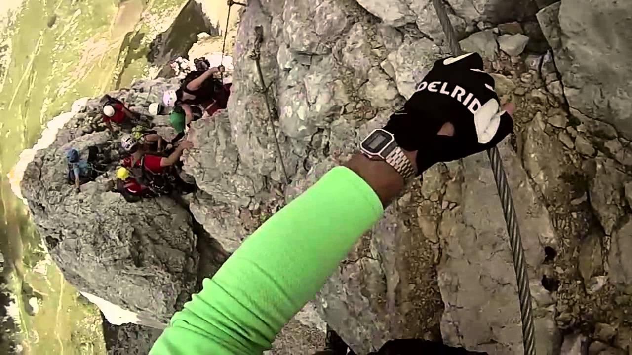 Klettersteig Achensee : Klettersteig rosskopf achensee 5 gipfel youtube