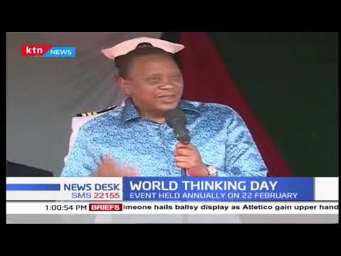 World Thinking Day: Kenya girl scouts hosted at State House, urged to pursue leadership positions