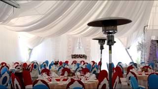 видео Советы по оформлению, украшению шатров, банкетных залов