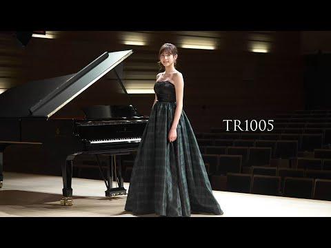 【荒井里桜コラボドレス】 TWEED DRESS × RIO ARAI ARTIST Collaboration 【TR1005】
