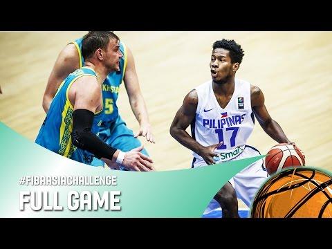 Philippines V Kazakhstan - Full Game - FIBA Asia Challenge 2016