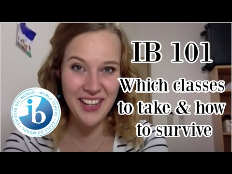 IB for beginners: choosing subjects and the first months