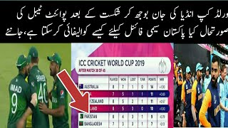 CWC 2019 Points Table   Points Table of ICC Cricket World cup 2019