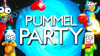 PUMMEL PARTY with The Crew!