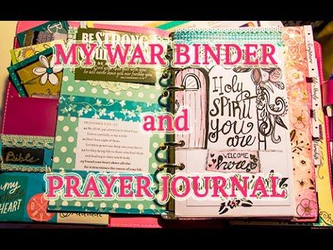 My War Binder / Prayer Journal: Walk...