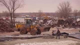 Смотреть видео Строительство ливневой канализации