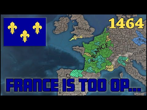 EU4 FRANCE 1.30 | Beginners Guide
