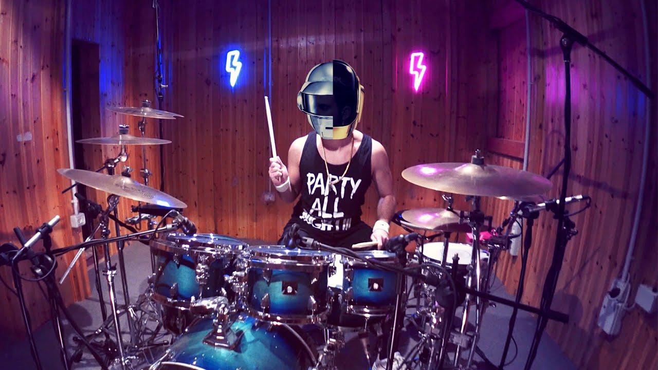 Daft Punk - Harder, Better, Faster, Stronger - Drum Cover