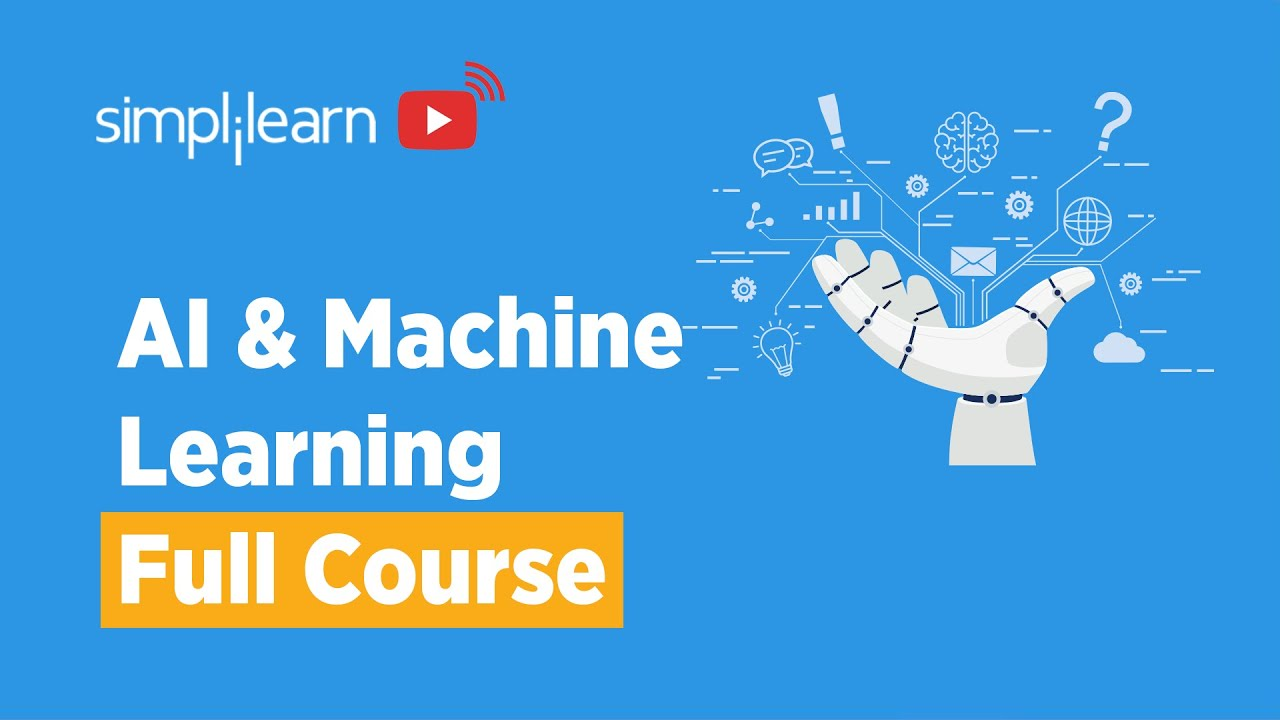 AI And Machine Learning Full Course | Artificial Intelligence & Machine Learning Course