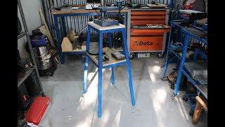 banco per  trapano a colonna fai da te (homemade stand for drill press)