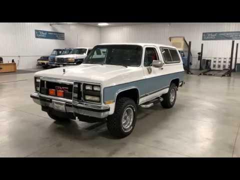 SOLD!!!!    1989 GMC JIMMY.  LIFELONG CALIFORNIA SUV.  1 OWNER!!  BEAUTIFUL!!!