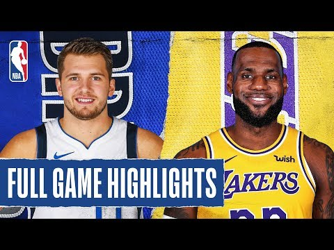 MAVERICKS at LAKERS | FULL GAME HIGHLIGHTS | December 29, 2019