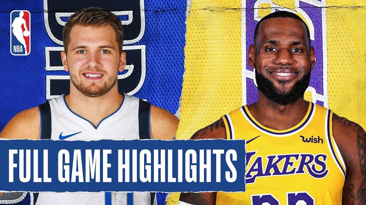 Lakers Clamp Down On Luka Doncic To Beat Dallas Mavericks