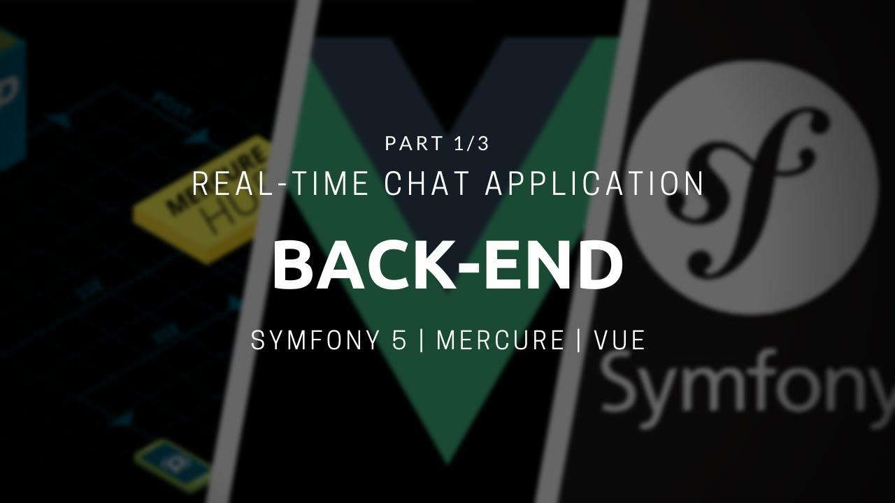 Back-end for Symfony 5 Real-time Chat App [Part 1\4]