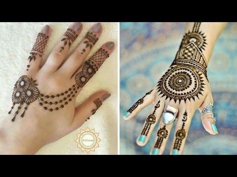 أروع موديلات الحنة المغربية تحفــــة Top Henna Designs Part 2