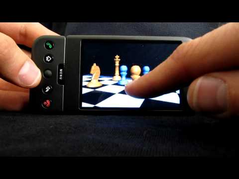 Window into a Virtual Chess World: Google Andriod dev phone 1