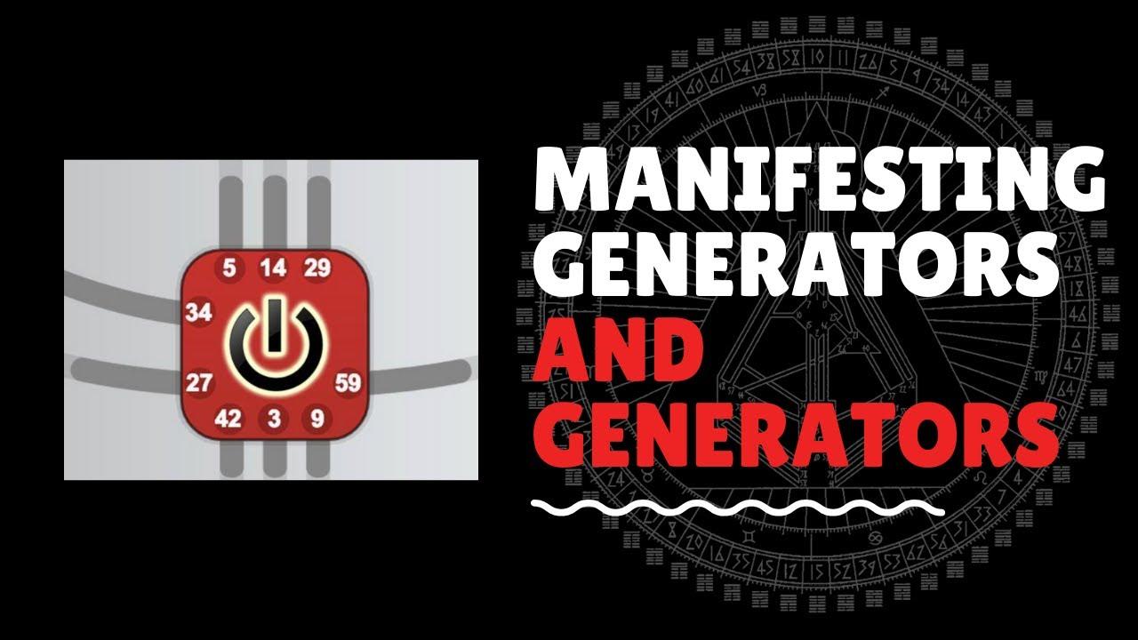 Human Design Generators & Manifesting Generators: Builder & Express Builder