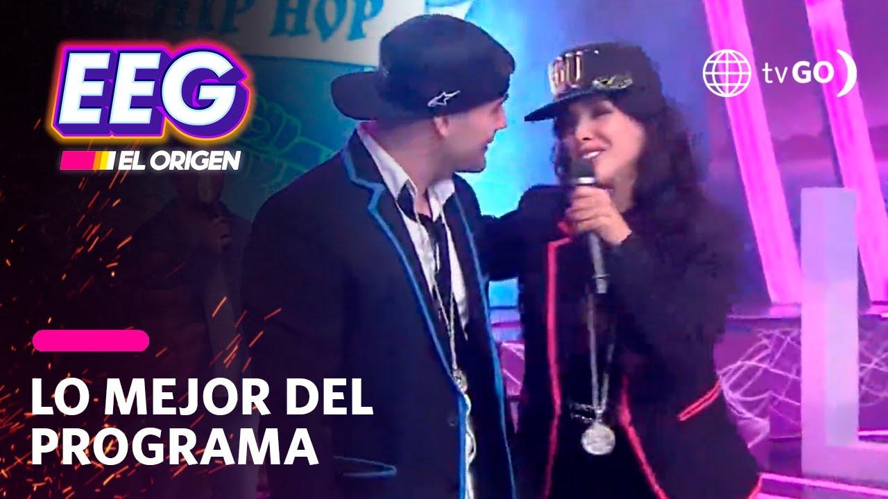 Download EEG El Origen: Pancho pone nerviosa a Rosángela al pedirle que le de un pedacito de su corazón