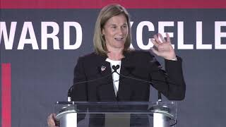 Jill Ellis Delivers Keynote Address at 2019 U.S. Olympic & Paralympic Assembly