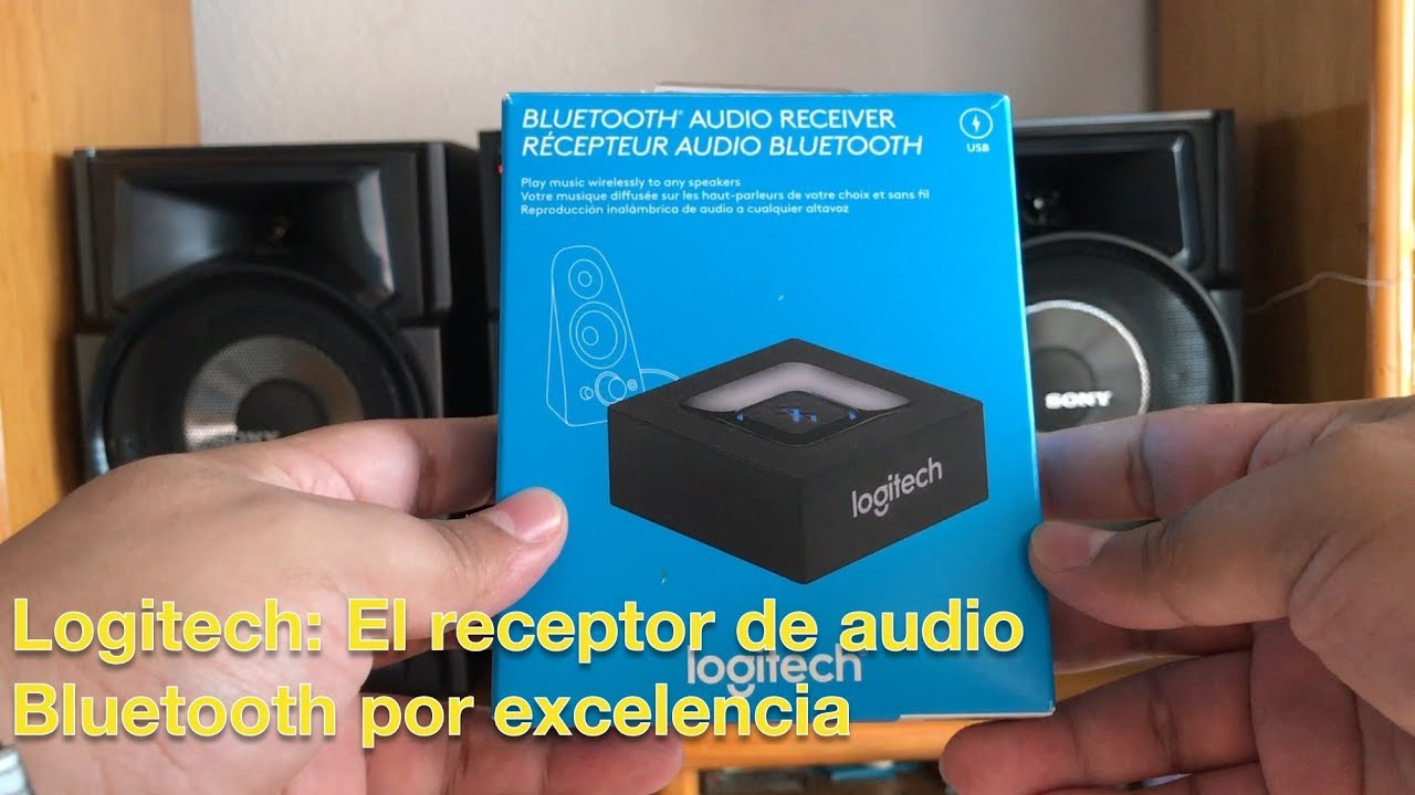Logitech Receptor de Audio Bluetooth 4.0, el mejor!!