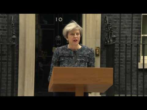 Theresa May: EU seeking to influence result of British election