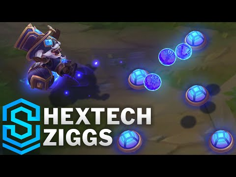 Hextech Ziggs Skin Spotlight - League of Legends