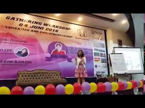 Seminar Merry Riana - PART 1 @Unika Soegijapranata Semarang 4 Juni 2016