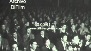DiFilm - Augusto Timoteo Vandor en la CGT 1969