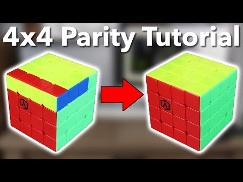 The BEST Way To Do 4x4 Parity | OLL and PLL Parity Tutorial