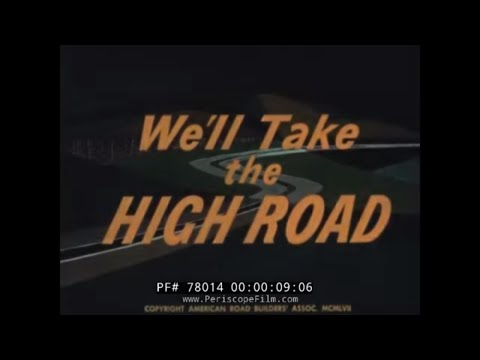 1950s INTERSTATE HIGHWAY  FILM BY AMERICAN ROAD BUILDINGS ASSOCIATION 78014 MD