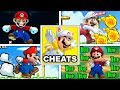 12 FUN And AWESOME CHEATS for New Super Mario Bros 2