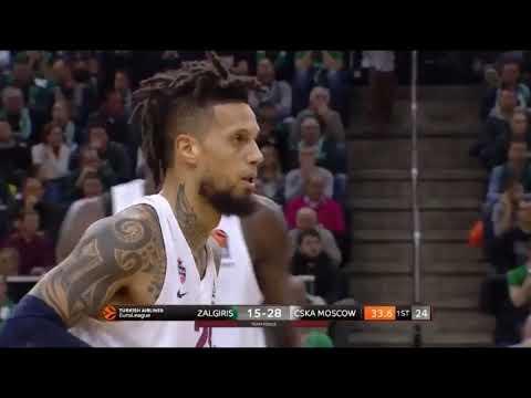 Daniel Hackett highlights (Zalgiris-CSKA: 79-84)